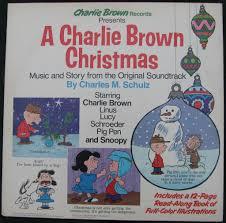 peanuts christmas soundtrack m schulz autograph signed peanuts soundtrack lp record album a