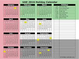 december 2016 calendar uae with holidays