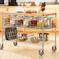 Kitchen Island And Carts Rolling Kitchen Carts Islands And Storage Racks Storables