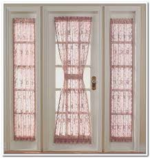 Curtains For Doors With Windows Door Side Window Treatments Window Treatments Door