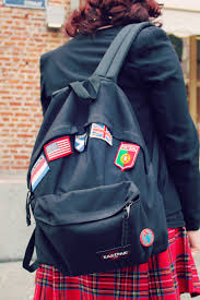 Country Flags Patches Eastpak Style