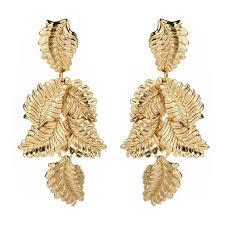 danglers earrings design autumn leaves earring shop amrita singh jewelry