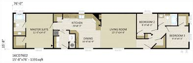 3 Bedroom Mobile Home 16 U2032 Single Wide U2013 Blackstone Homes