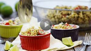 Mexican Pasta Salad Healthy Pasta Salad Recipes Eatingwell
