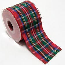 tartan ribbon sta online shop ribbons tartan polyester 38mm