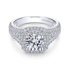 double wedding rings images Henrietta platinum round double halo engagement ring jpg