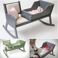 Nursery Furniture Rocking Chairs Diy Baby Furniture Wonderful Diy Rocking Chair Cradle With A Crib