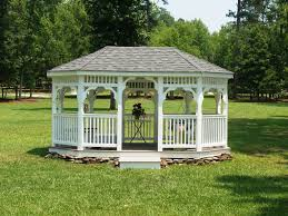 14x14 Outdoor Gazebo by Amish Built Gazebos