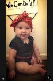 Rosie Riveter Halloween Costume Diy Rosie Riveter Baby Halloween Costume Momma Sweet U0027s