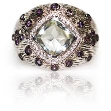 white topaz rings images 925 green amethyst purple amethyst white topaz ring JPG