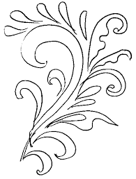 floral patterns coloring pages for