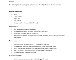 write my cv guide to writing a resume resume for a exle resume