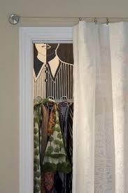 Curtain As Closet Door Best 25 Door Alternatives Ideas On Pinterest Closet Door