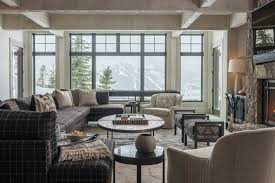 mountain homes interiors rustic mountain house with interiors interior