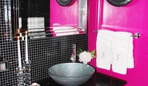 pink and black bathroom ideas pink black and white bathroom ideas pink and black