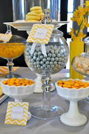 yellow and gray baby shower decorations baby shower decorations yellow colors ba shower decorations in