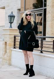 cozy sweater dress u0026 sock boots