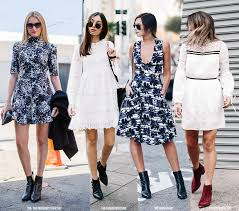 12 dress boots looks for fall blue is in fashion this year