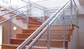 stair staircase railing designs steel contemporary stair