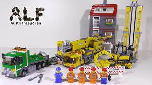lego city 7633 construction site baustelle lego speed build