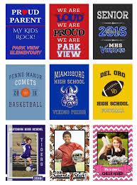 Custom Team Flags And Team Fundraising Idea Personalized Spirit Flags