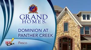 dominion at panther creek frisco tx grand homes