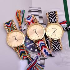 ladies watches bracelet style images Kilimall women girl ladies quartz watch fashion hand woven rope jpg