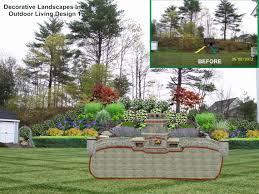 Slope Landscaping Ideas For Backyards Backyard Landscape Designs Madecorative Landscapes Inc Ideas