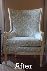 Reupholster Armchair Diy 136 Best Recovered Chairs Images On Pinterest Home Chairs And