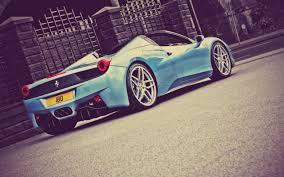 Ferrari 458 Blue - 3840x2160 ferrari 458 ferrari 458 spider blue supercar on london