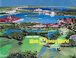 Walt Disney World Map Pdf by Preview Guide To Walt Disney World U2013 1970 1971