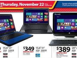 walmart black friday 2012 ad leaks laptop desktop tablet pc