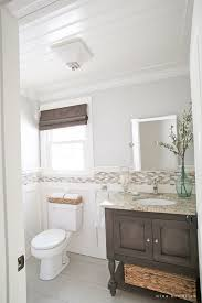 Bathrooms With Beadboard Diy Beadboard Ceiling Tutorial Easy And Inexpensive Custom Treatment