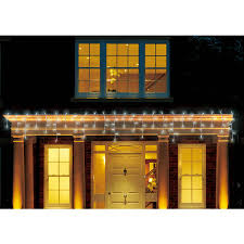 best deal on led icicle lights holiday time christmas lights led cool white icicle lights 500