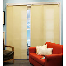 Panel Curtain Room Divider by Chicology French Primrose Double Rail Sliding Panel System