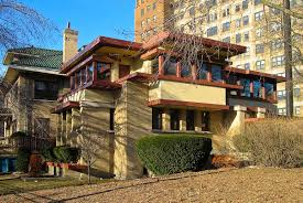 Frank Lloyd Wright Inspired Home Plans by Emil Bach House Wikipedia