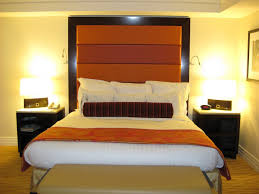 bedrooms alluring burnt orange paint colors orange feature wall