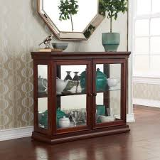 tall cabinet with glass doors curio cabinet double glass door curio cabinet tall lighted