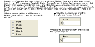 solved dumphy and funke are rival artists in the s