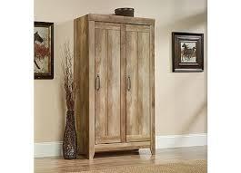 Sauder Homeplus Storage Cabinet Oak Storage Cabinet U2013 Valeria Furniture