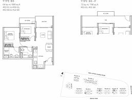 sqm to sqft the glades condo floor plan 2br suite b6 64 sqm 689 sqft b6