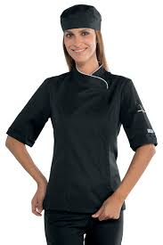 vetement cuisine veste cuisine femme manches courtes et blanche vestes de