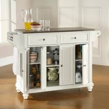 white kitchen island with stainless steel top kitchen island with stainless steel top foter