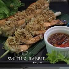 smith cuisine ก งย างตะไคร น ำปลาหวาน smith rabbit cuisine