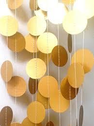 gold party decorations gold party decorations ideas garland paper wedding decoration decor