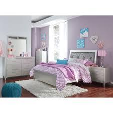 ashley bedroom signature design by ashley olivet glam full bedroom group