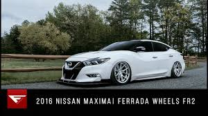 2016 nissan maxima youtube 2016 nissan maxima ferrada wheels fr2 youtube