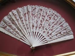 lace fans antique 19th century ivory lace framed fan from midas on ruby