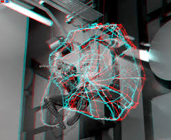 3d Pictured 3d Anaglyph Red Cyan Glasses Spiderman 3d And Photography