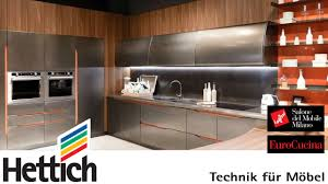 hettich trendreport eurocucina ftk 2016 youtube